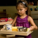 maddie carrying tray